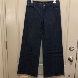 Like New Michael Kors Wide Leg Jeans (4)